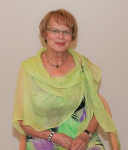 Vuoden 2013 seuran kunniajäsen Maila Ovaska